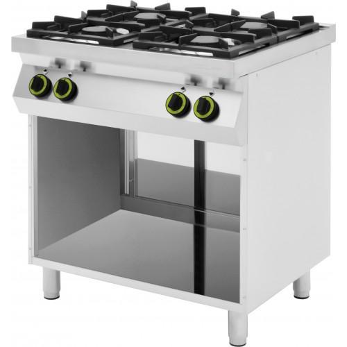 Cucine a gas a 4 o 6 fuochi dietamed - Cucine a gas metano ...